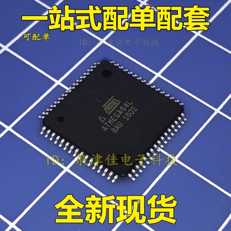 100% Original Novo ATMEGA64L-8AU ATMEGA64L 8 QFP64