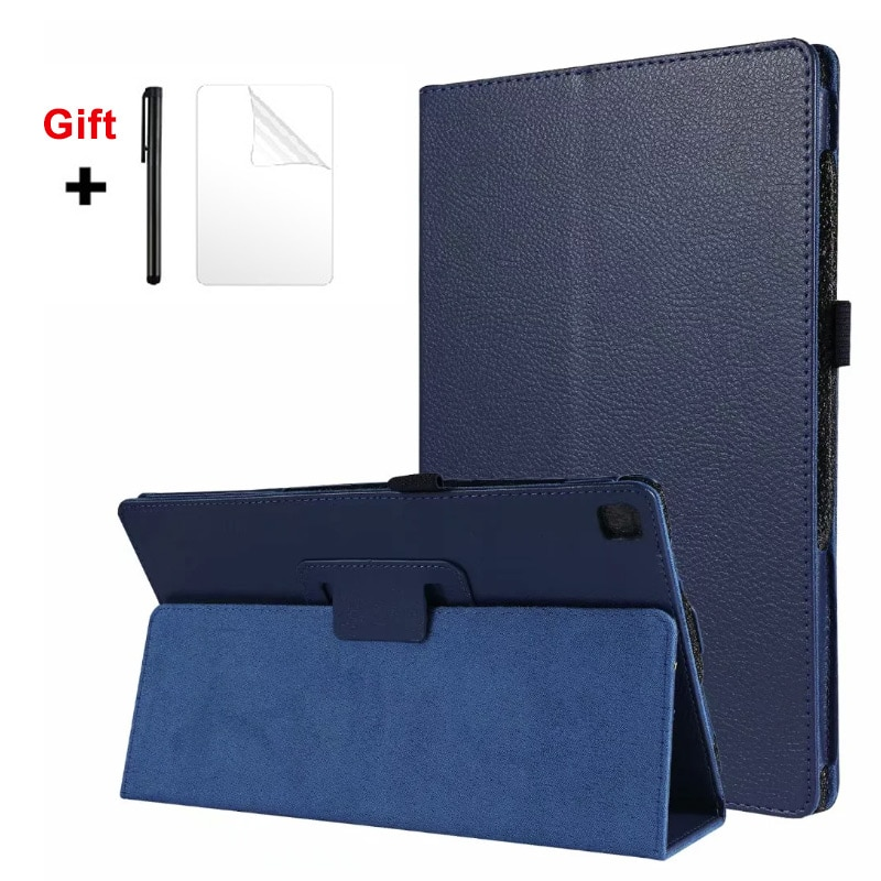 Für Samsung Galaxy Tab S6 Lite 10,4 SM-P610 P615 2020 Fall Tablet abdeckung Stand Fall Leder Smart cover + film