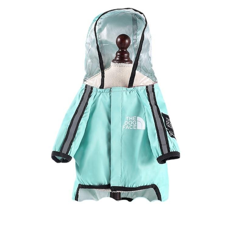 Водонепроницаемый дождевик, многоцветный модный дождевик для собак с четырьмя ногами, одежда для домашних животных, дождевик для маленьких...