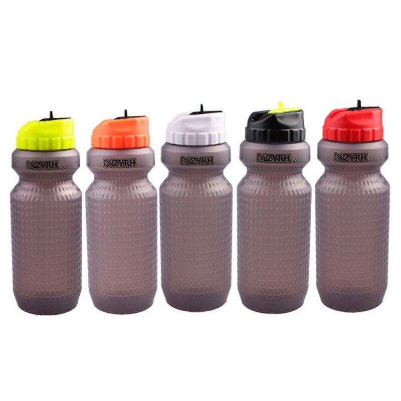 Deportes al aire libre Fitness botella de agua montaña carretera bicicleta hervidor de agua portátil apretón de agua de ciclismo