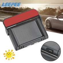 Digital LCD Display Tyre Pressure Monitoring System USB Solar Power Auto Security Alarm Systems Smar