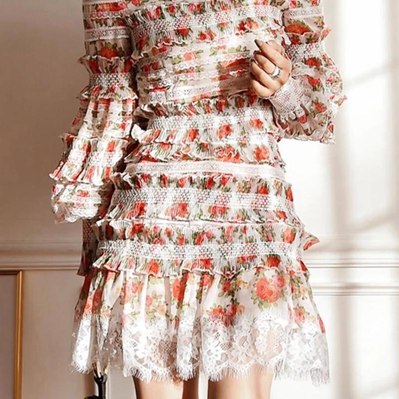 Women Runway Floral Mini Skirts SALE
