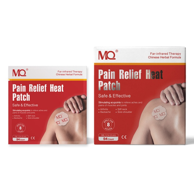 54pcs analgesic patch stimulates acupoints to relieve pain in the neck, shoulder, back, hip joint muscles, knees and feet 4