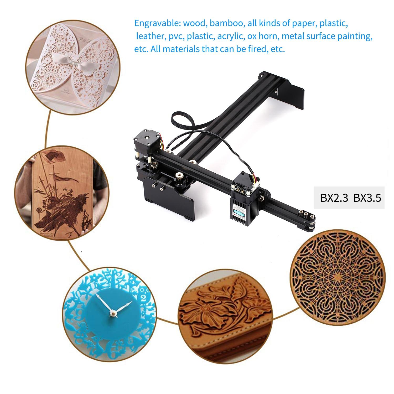 2.3/3.5/7/15/20W DIY Laser Engraver Cutter Engraving Wood Cutting Machine Router Laser Engraving Machine Laser Engraver Printer