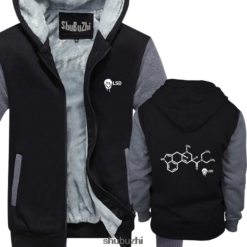 Smiley Acid LSD fórmula química para hombres sudadera gruesa Cool Casual pride hoodie hombres Unisex hoodies shubuzhi sudadera sbz3088