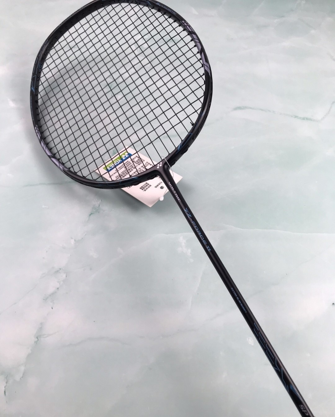 Yonex VTZ show off the new black 36T full carbon badminton racket