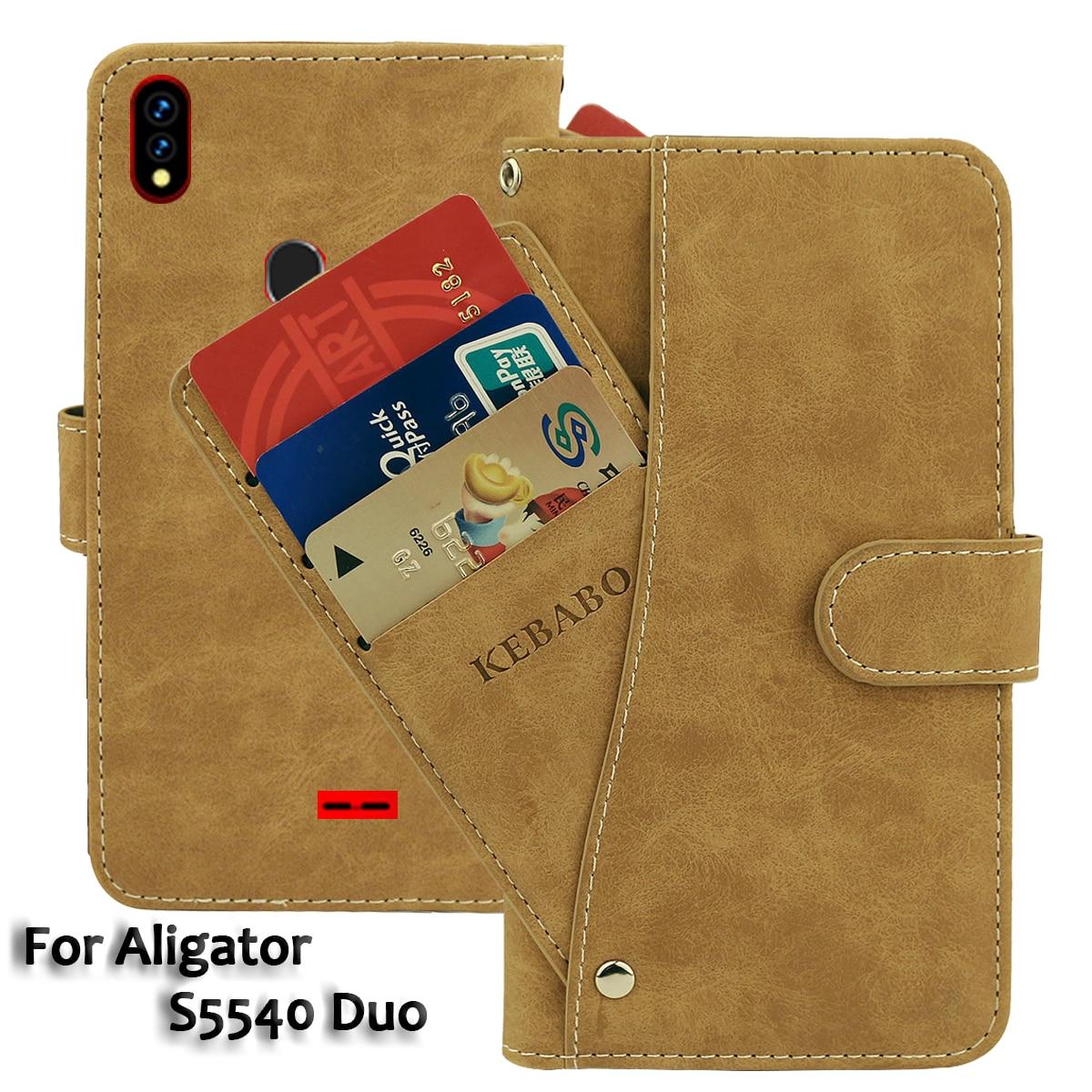 """Couro carteira alinhador s5540 duo caso 5.5 """"flip moda luxo frente slots de cartão casos capa negócios magnético telefone sacos"""