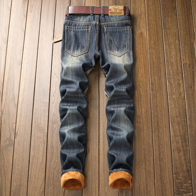 NEW Designer Fashion Streetwear Jeans 8