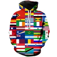 flags of all countries of the world 3d printed men hoodie harajuku fashion sweatshirt unisex casual pullover sudadera hombre