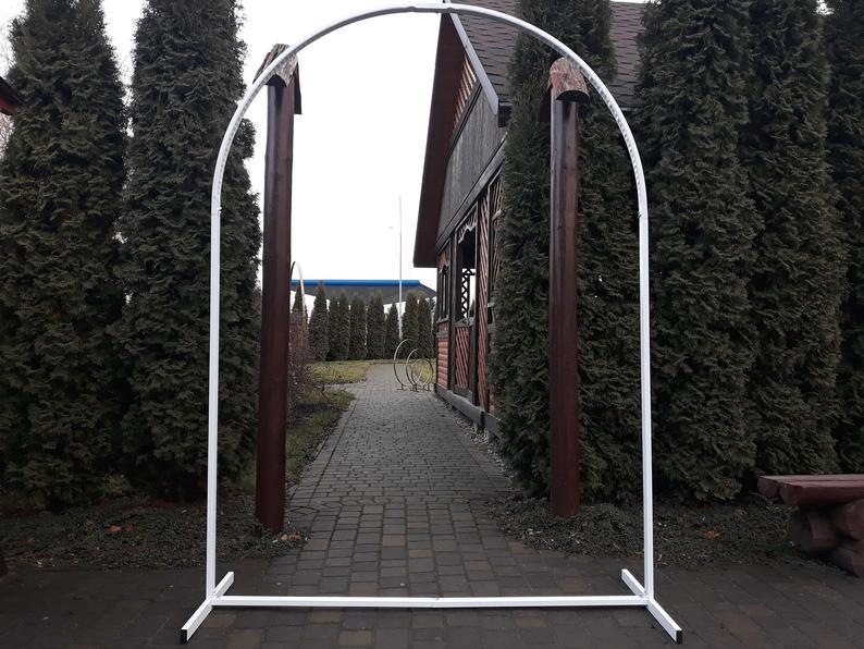 Arco do Casamento do Metal Arco do Casamento ao ar Suporte do Pano de Fundo do Casamento Suporte do Metal Arco da Flor do Casamento Cabine da Foto Livre Arco Floral –