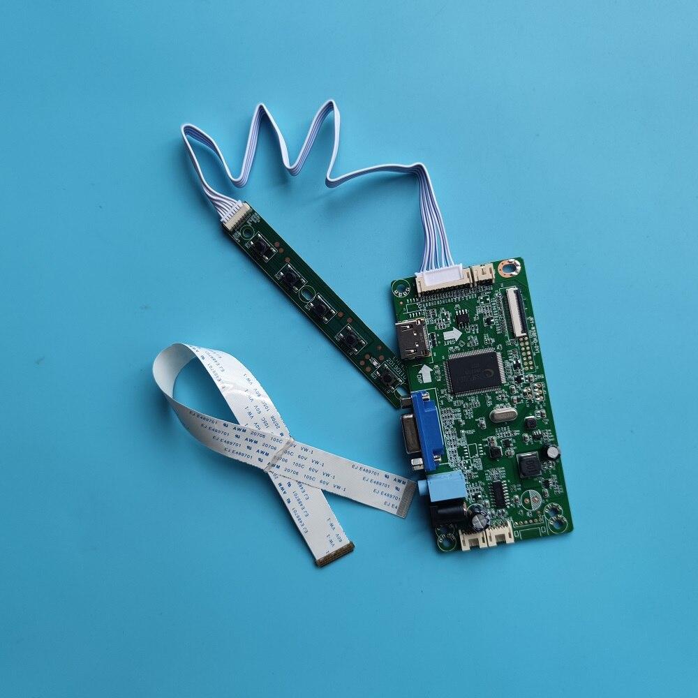 ل NT116WHM-N11 VGA EDP تحكم مجلس رصد LED 30pin 1366 × 768 سائق LCD DIY بها بنفسك HDMI-متوافق 11.6