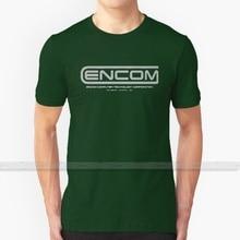 Tron - Encom Weiß T - Shirt Männer Frauen Sommer 100% Baumwolle Tees Neueste Top Beliebte T Shirts Encom Encom corporation Tron Tron