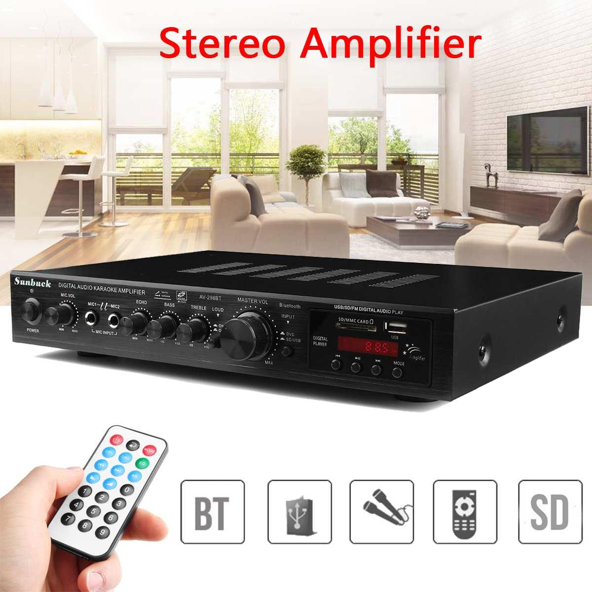 Barra de sonido envolvente Digital para cine en casa, de 110V, 5 CANALES, amplificador con sonido Surround