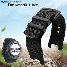 Waterproof nylon canvas strap special  for Huami Amazfit T-Rex replacement wristband outdoor sports