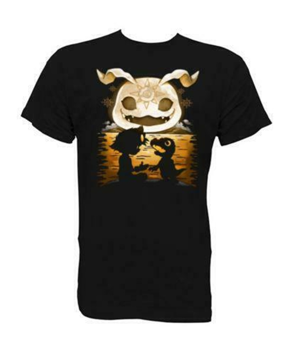 Camiseta T-Shirt Digimon Tai Koromon Men'S Black T-Shirt Size S-Xxl Cool Casual Tee Shirt