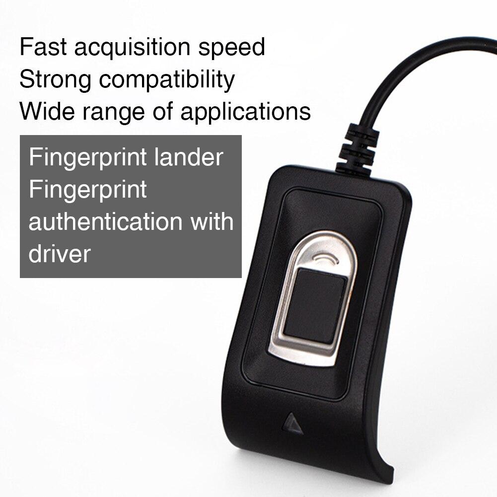Leitor de impressão digital chave criptografia profissional, mini acessórios usb dispositivo de reconhecimento, computador portátil, pc, laptop, segurança rápida