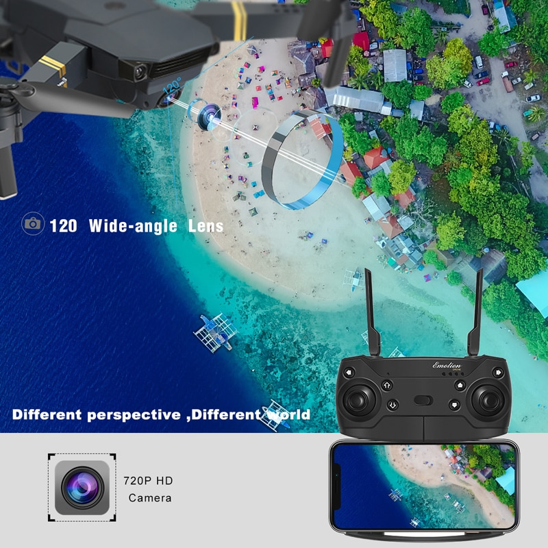 Eachine E58 WIFI FPV With Wide Angle HD 1080P/720P/480P Camera Hight Hold Mode Foldable Arm RC Quadcopter Drone X Pro RTF Dron enlarge
