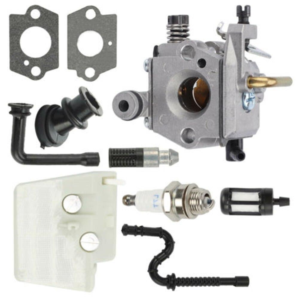 Kit de filtro de aire de carburador para Stihl 024 026 MS240 MS260 herramientas para motosierra Elements