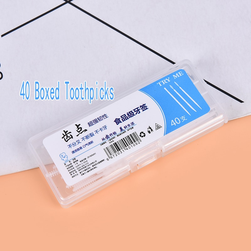 40 шт./кор. зубная нить, зубная нить, чистящие палочки для зубов, зубная палочка, чистка зубов, уход за полостью рта