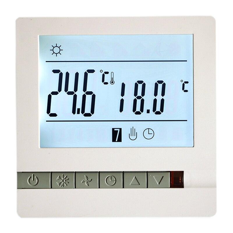 MK605 może być wysyłany z rosyjskiego 16A 230V programowalny Termostat, LCD cronotermostato regulator temperatury ogrzewania podłogowego