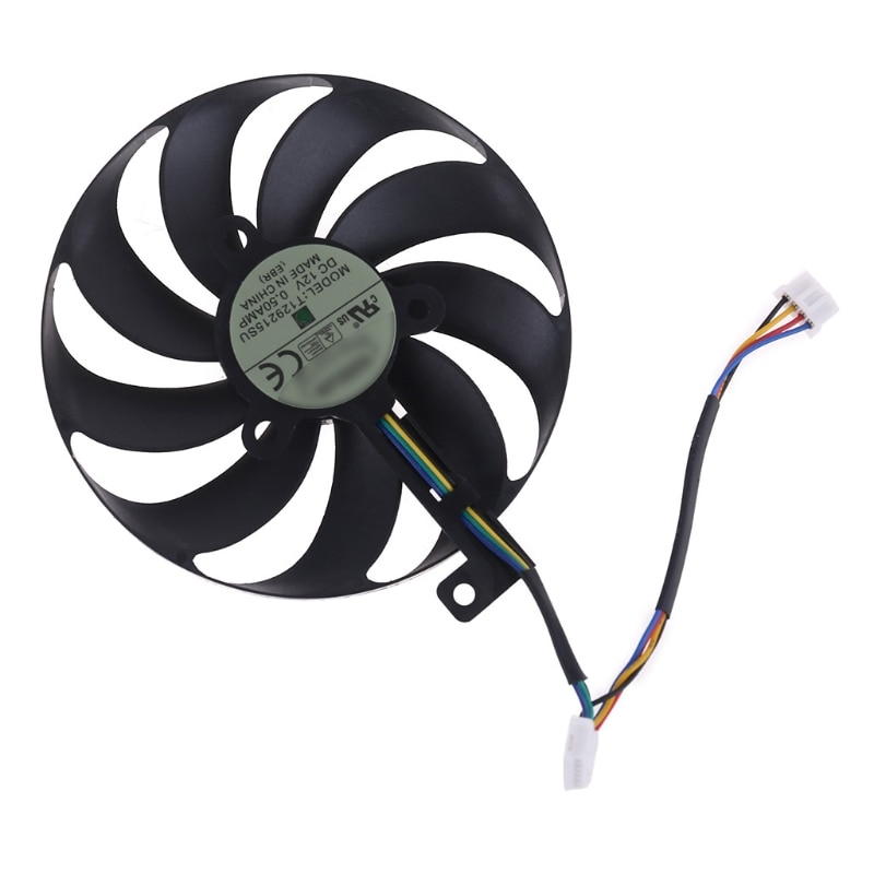 Replacement cooler fan T129215SU 12V 0.5A 88mm For -ASUS RX5700 RX5700 XT RTX2080TI 8GB ROG STRIX OC Graphics Card Cooling Fan