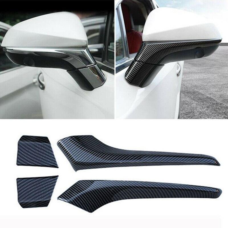 Beler 4 Uds puerta lateral cubierta para espejo retrovisor molduras de Marcos apto para Lexus NX200t NX300 NX300h 2015-2020