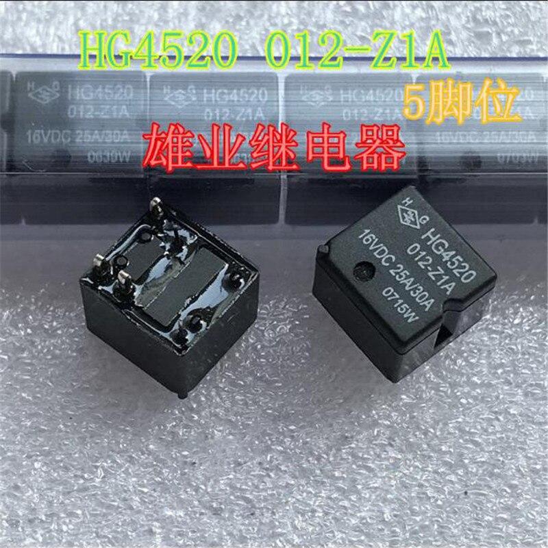 16V relé de HG4520 012-Z1A HG4520012Z1A HG4520 012 Z1A HG4520-012-Z1A 16VDC 5PIN 25A/30A