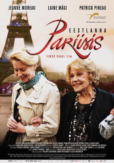 爱沙尼亚女人在巴黎