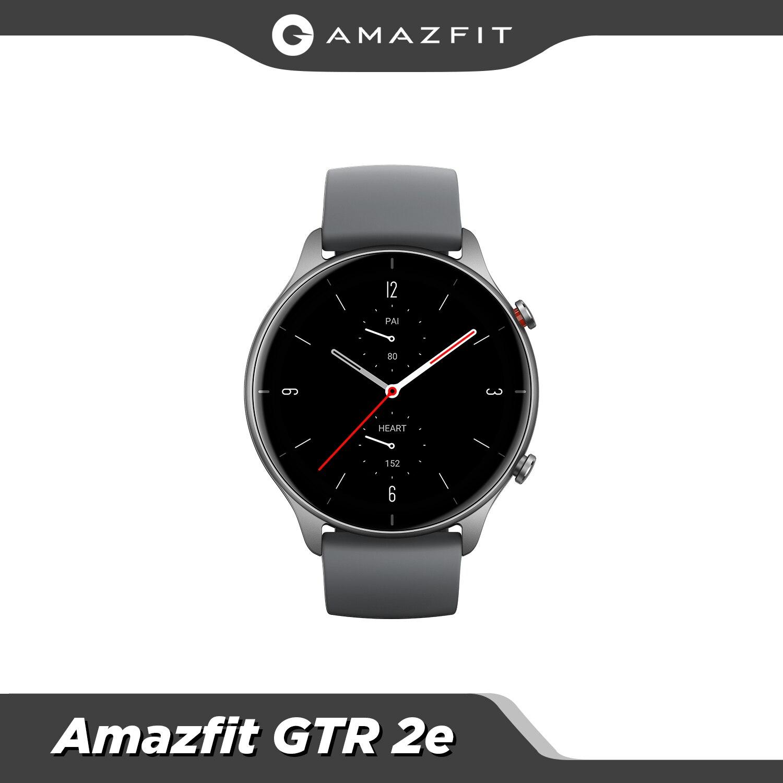 New Global Version Amazfit GTR 2e Bluetooth 5.0 Smartwatch 2.5 D Glass 90 Sports Modes Alarms 24 Days Battery Life Smart Watch