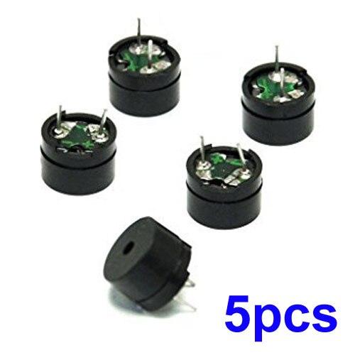 5V Piezo Sounders Passive Buzzer Component For Arduino MINI Alarm Speaker Brand New And High Quality