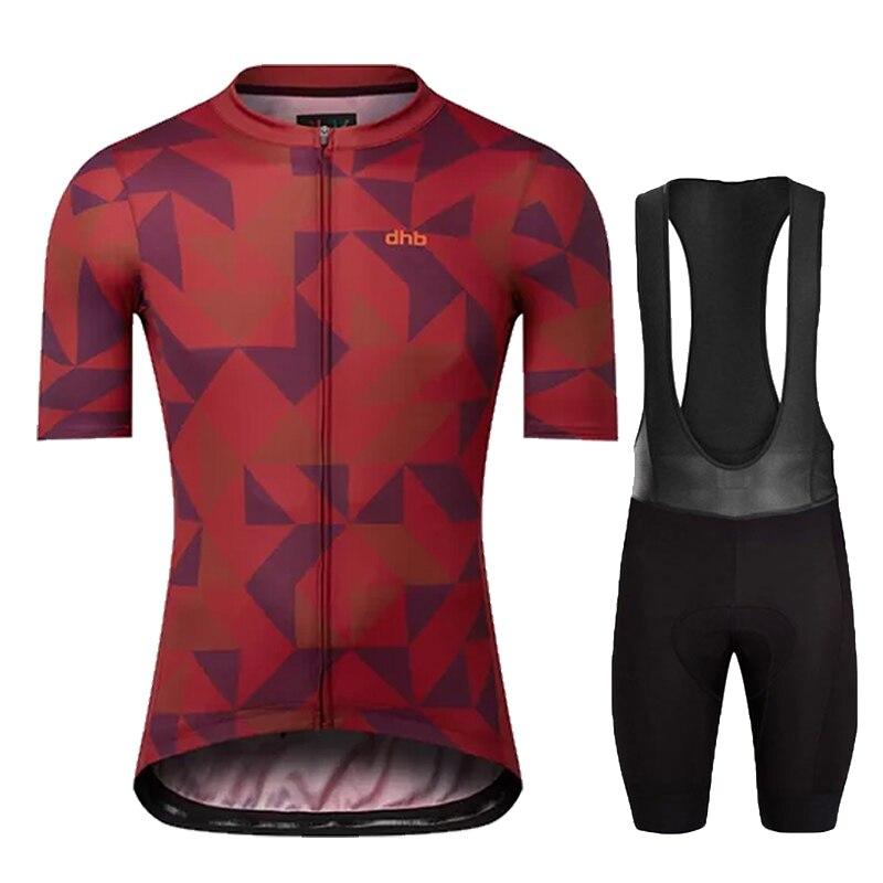 Командная мужская летняя веломайка DHB, дышащая одежда для горных велосипедов, одежда для горных велосипедов, велосипедная одежда, одежда дл...
