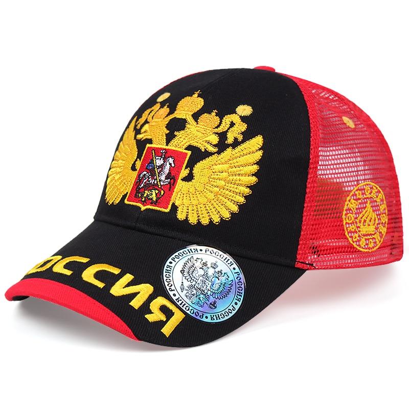 Мужские бейсболки с русским логотипом, модная дышащая сетчатая Кепка от солнца, Снэпбэк Кепка, летняя уличная Солнцезащитная Женская кепка