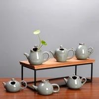 ge kiln mini ceramic small vase creative home decoration living room decoration fingertip pot flower arrangement water flower