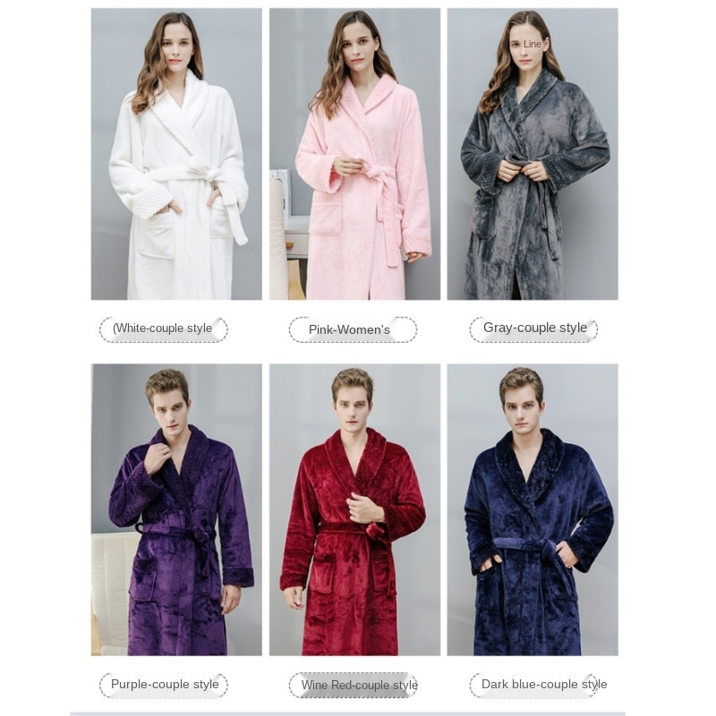 Комплекты, халат, женские пеньюары, фланелевый Халат, женские халаты, банный халат, пушистый Халат