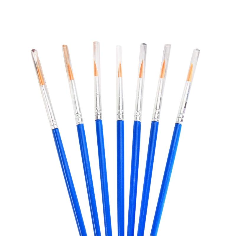 100 Pieces / Set Fine Hook Line Nylon Pen Paint Brush Painting Art Watercolor Painting Art Supplies Painting