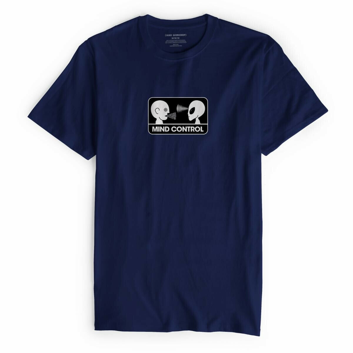 Alien Workshop camisa para correr patineta Control mental Midnight Navy