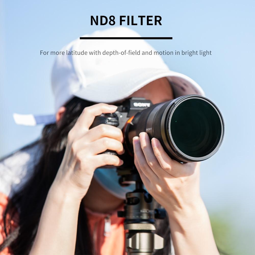 lente multi-resistente nano x revestimento filtro densidade