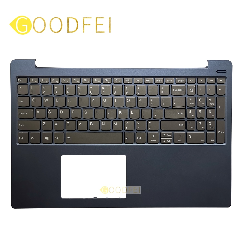 جديد وأصلي لينوفو IdeaPad 330S-15 330S-15ARR 330S-15AST 330S-15IKB Palmrest الغطاء العلوي للقضية US لوحة المفاتيح الخلفية الخلفية