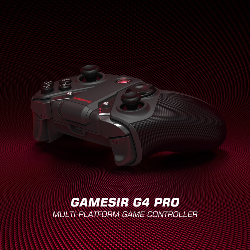 GameSir G4 Pro Bluetooth Game Controller 2.4GHz Wireless Gamepad for Nintendo Switch Apple Arcade and MFi Game Xbox Cloud Gaming