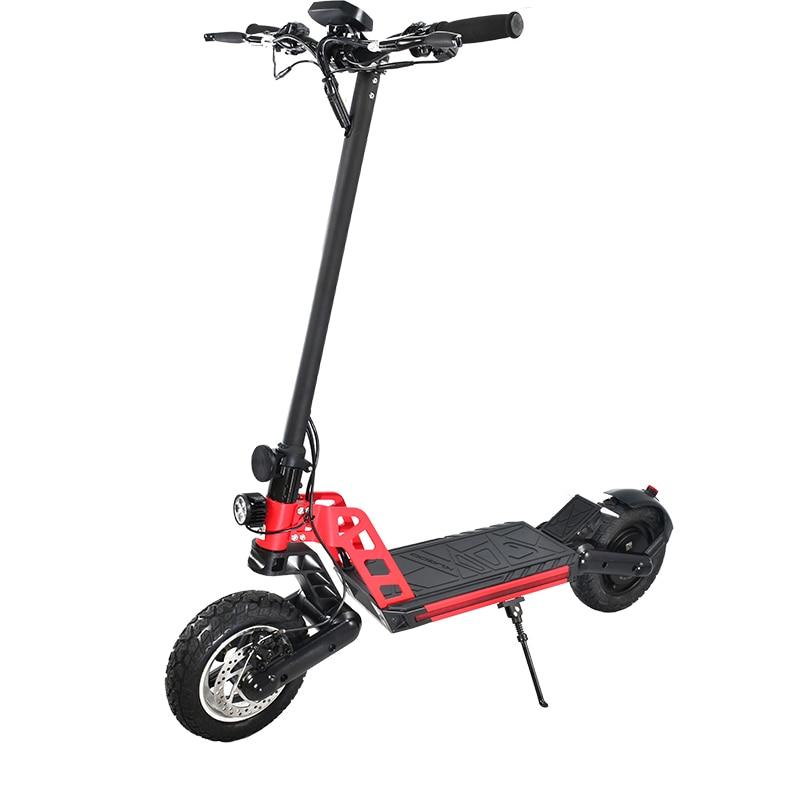 Patinete eléctrico plegable para adultos, Scooter todoterreno de 10 pulgadas, 48V, 1200W,...