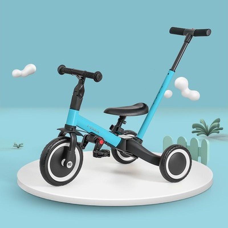 Triciclo para nios... cochecito de beb ¡artefacto para cochecito de bicicleta de beb ligera plegable... cochecito Triciclo de