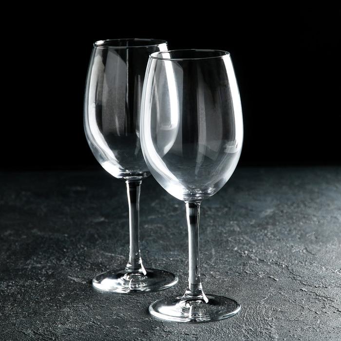 """Набор фужеров для вина 630 мл """"Классик"""", 2 шт"""