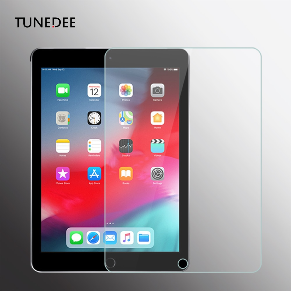 AliExpress - Tablet Glass For iPad 2017 2018 9.7 Screen Protector For iPad Air 1 2 mini 3 4 5 Protective Film For iPad Pro 11 2020 10.5