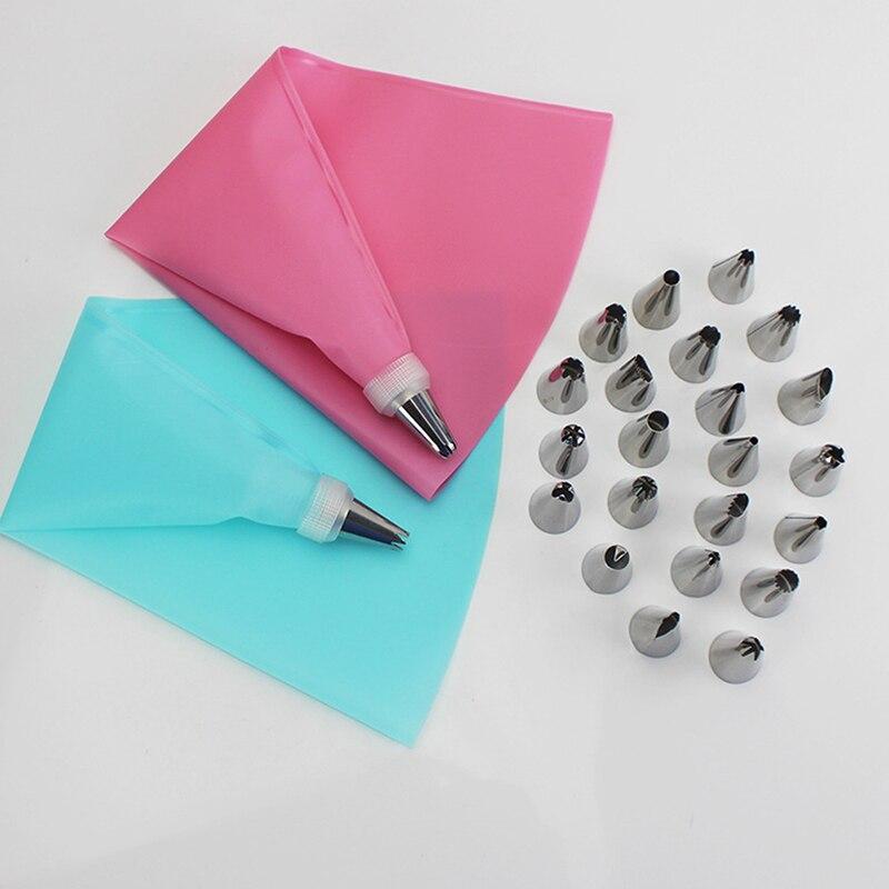Инструменты для украшения тортов, кондитерский мешок, Кондитерские насадки, можно использовать повторно, кондитерский мешок с карманным ру...