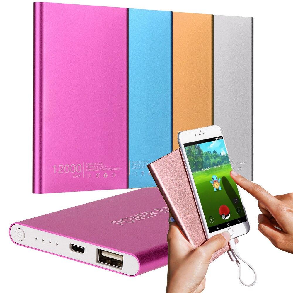 Carregador power bank 12000 mah powerbank bateria externa de carregamento portátil carga rápida 2.0 pacote de carga rápida em dois sentidos para iphone