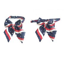 30pcs American Independence Day Pet Supplies Dog Bow Ties Pet Dog Holiday Grooming Accessories Adjus