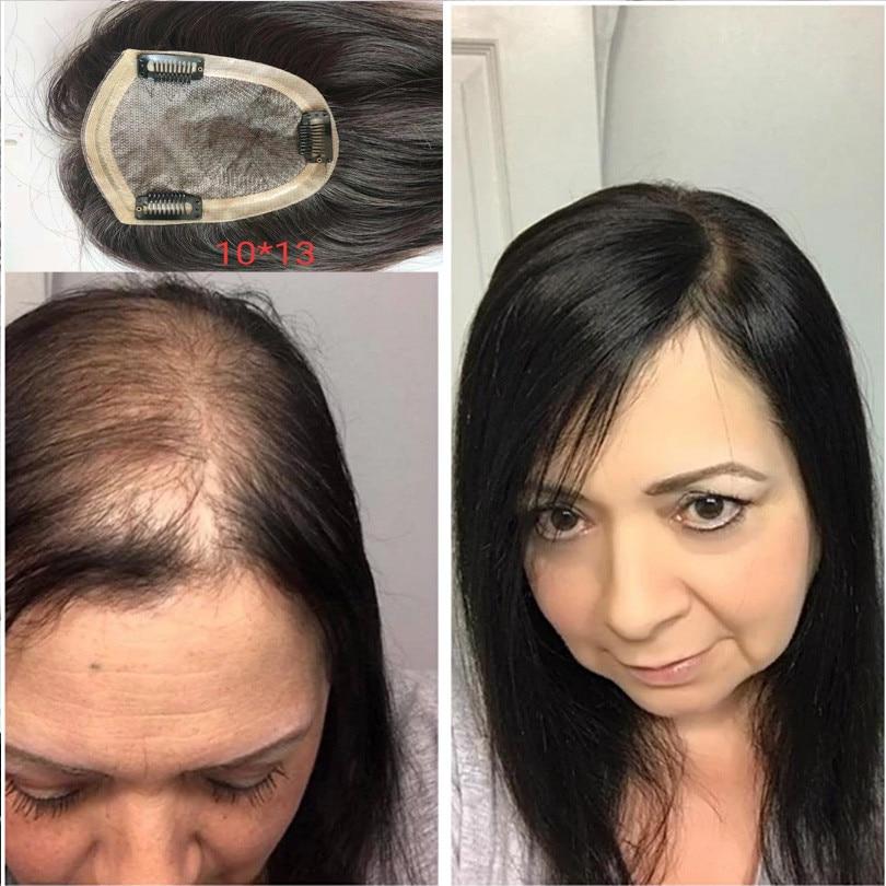 BYMC-شعر مستعار نسائي 5*8 ، شعر مستعار ، مشبك شعر بشري ، PU ، قاعدة واحدة ، لون طبيعي ، تمديد حجم 130%