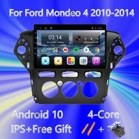 android 10 0 dvd car radio video stereo player for ford mondeo 4 2010 2011 2012 2013 2014 gps navigation multimedia player 2din