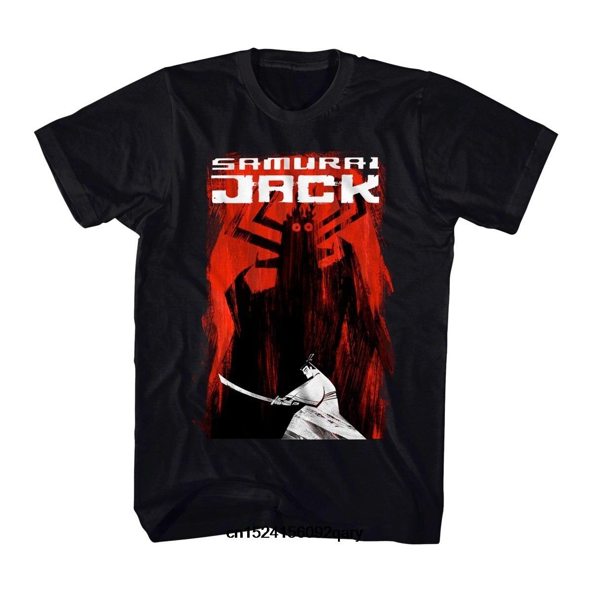 Camiseta divertida para hombre Camiseta guay de mujer para hombre Samurai Jack y Aku