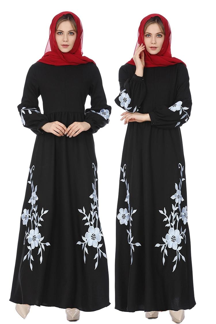 Abayas Für Frauen Abaya Kaftan Dubai Hijab Muslimischen Kleid Islam Kleidung Kaftan Türkischen Kleider Robe Musulmane Femme Vestidos
